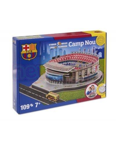 3D Пъзел Стадион Camp Nou FC Barcelona (Spain) Nanostad