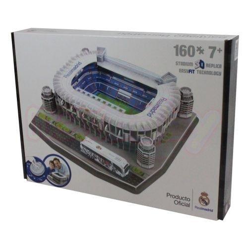 3D Пъзел Стадион Santiago Bernabeu Real Madrid(Spain) Nanostad-1
