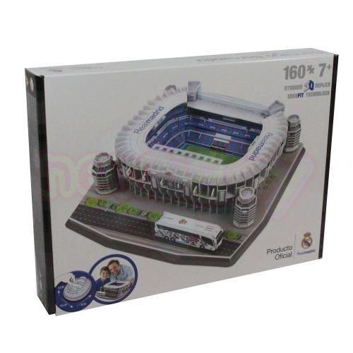 3D Пъзел Стадион Santiago Bernabeu Real Madrid(Spain) Nanostad