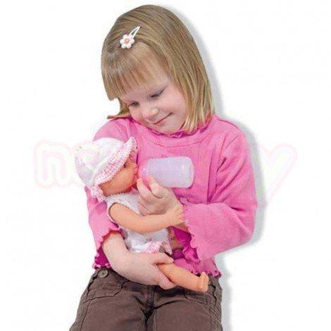 Бебе Ани с шише гърне и биберон Melissa and Doug