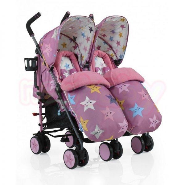 Бебешка количка за близнаци Cosatto SUPA DUPA HAPPY STARS