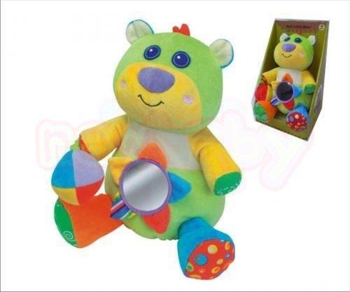 Бебешка плюшена играчка Moni Малкото мече