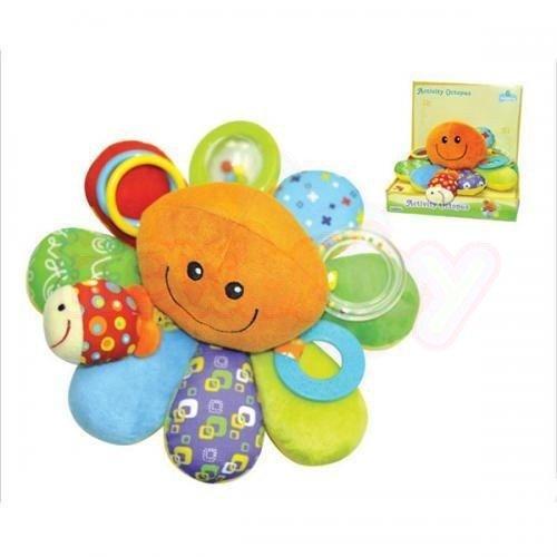 Бебешка плюшена играчка Moni Палавото Октоподче