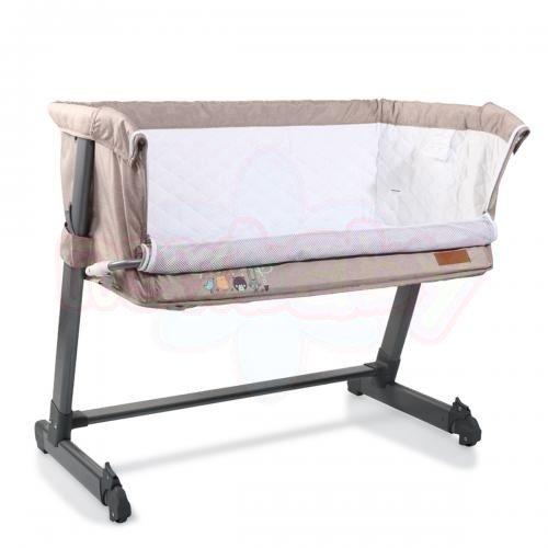 Бебешко легло с подвижна страница Cangaroo Shared Love