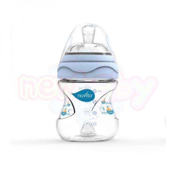 Бебешко шише за хранене Nuvita Mimic 150 мл