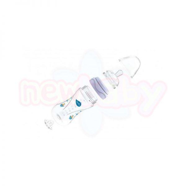 Бебешко шише за хранене Nuvita Mimic 250 мл