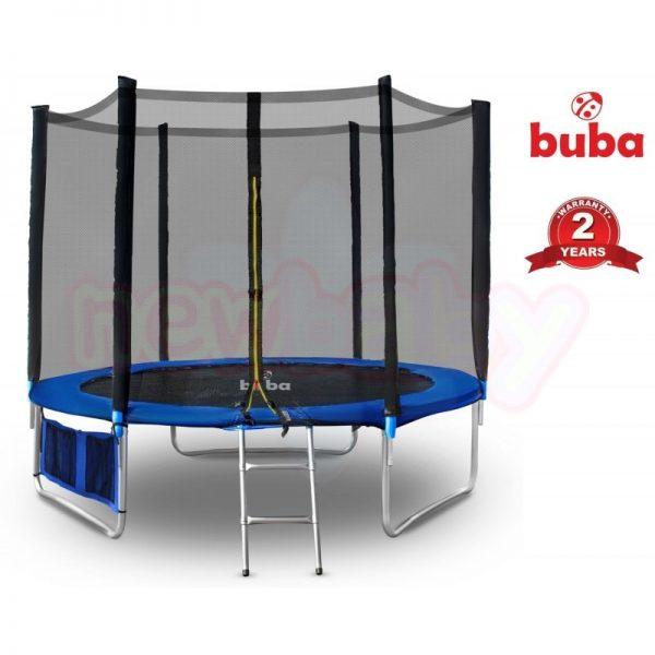 Детски батут Buba 10FT 305 см с мрежа и стълба