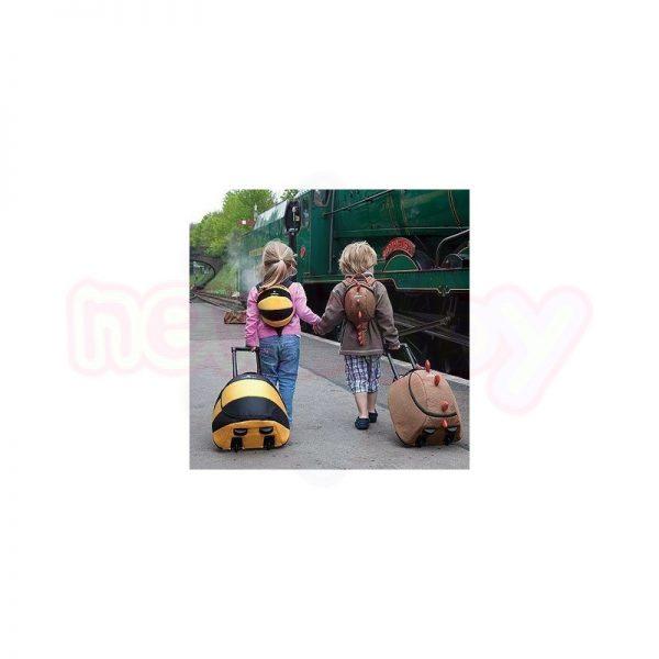 Детски куфар LittleLife Animal Динозавър