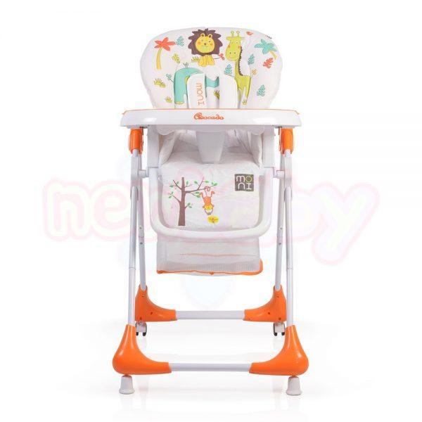 Детски стол за хранене Moni Avocado