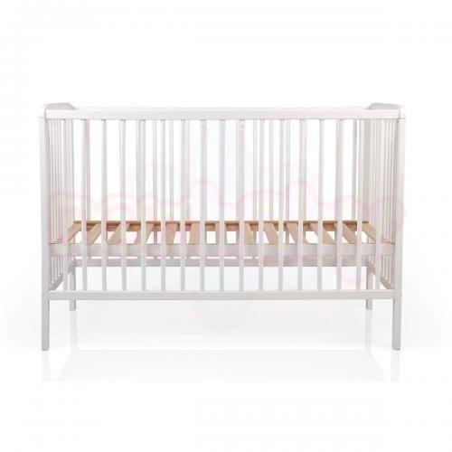 Детско дървено легло Milky way бяло