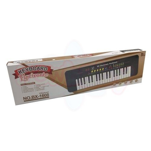 Електронно Пиано Keyboard Electronic 37 клавиша и микрофонЕлектронно Пиано Keyboard Electronic 37 клавиша и микрофон