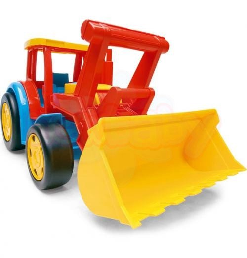 Гигант трактор Wader
