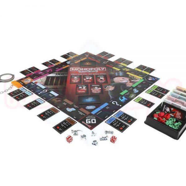 Игра Монополи Издание за измамници Hasbro