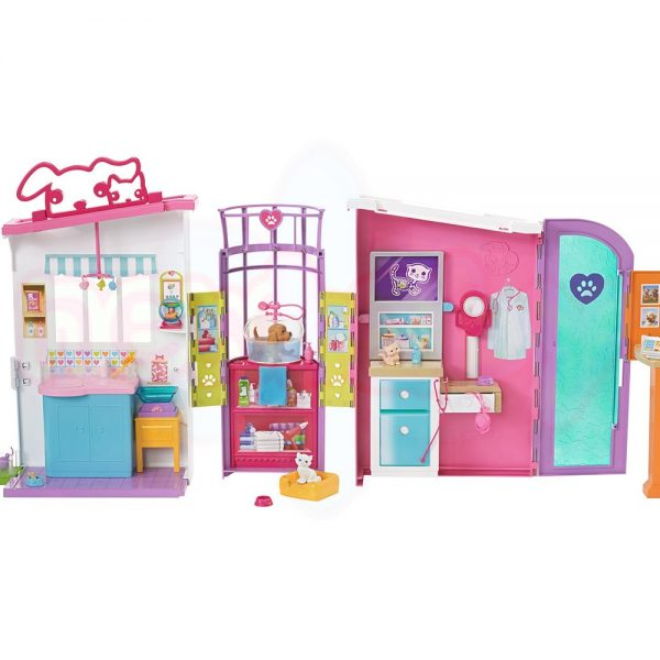 Игрален комплект Barbie Ветеринарна клиника