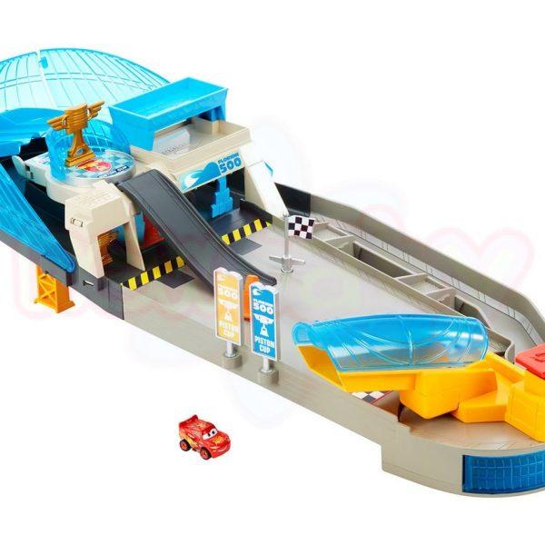 Игрален комплект Disney Cars Предизвикателството с мини колички
