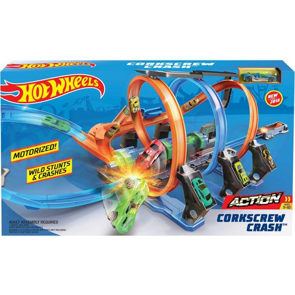 Игрален комплект Hot Wheels Тирбушон