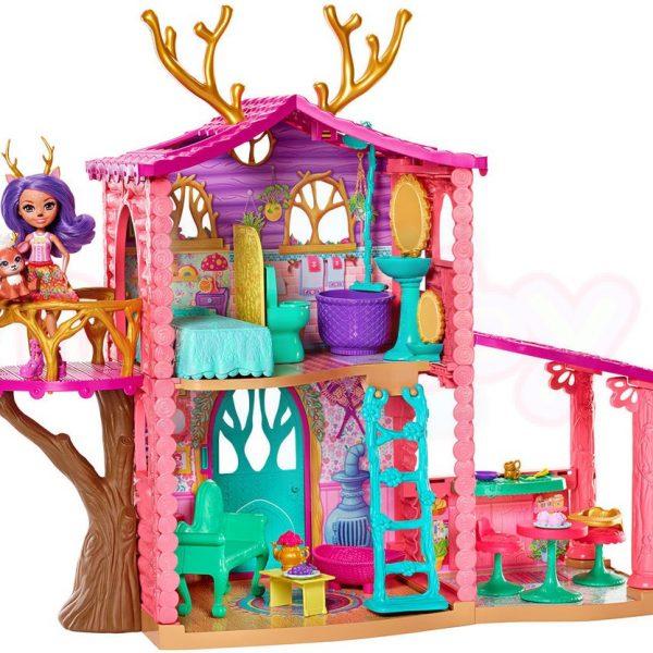 Игрален комплект Къща за елени Mattel Enchantimals