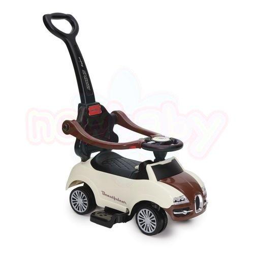 Кола за бутане с дръжка Moni Rider