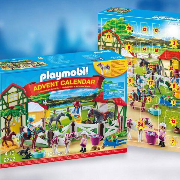 Коледен календар Ферма за коне Playmobil