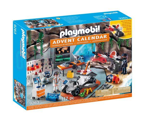 Коледен календар Топ Агенти Playmobil