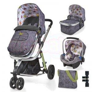 Комбинирана бебешка количка 3в1 Cosatto GIGGLE 2 DAWN CHORUS