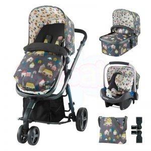 Комбинирана бебешка количка 3в1 Cosatto GIGGLE 2 HYGGE HOUSES