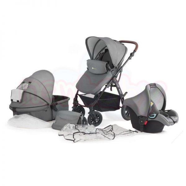 Комбинирана бебешка количка 3в1 KinderKraft Moov