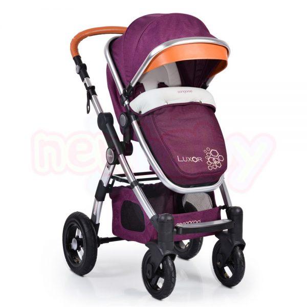 Комбинирана бебешка количка Cangaroo Luxor