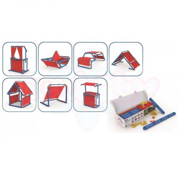 Комплект за игра и конструктор Keter MegaDo 8в1