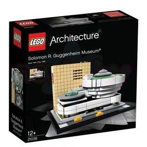 Конструктор Lego Architecture Музей Соломон Гугенхайм
