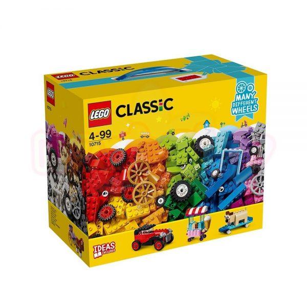 Конструктор Lego Classic Тухлички на колела