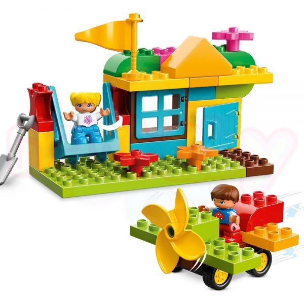 Конструктор Lego Duplo Голяма площадка – кутия с тухлички