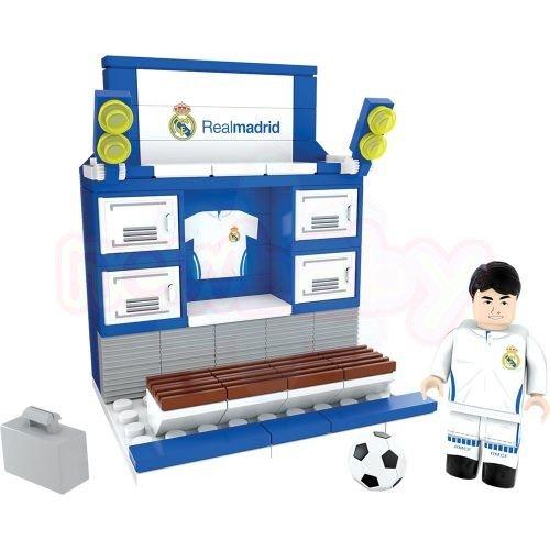 Конструктор Съблекалня NanoStars Real Madrid 89 части-2
