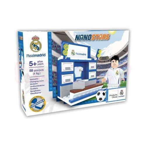 Конструктор Съблекалня NanoStars Real Madrid 89 части