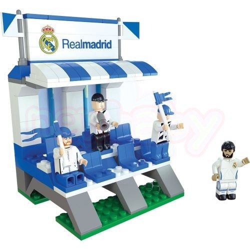 Конструктор Скамейка NanoStars Real Madrid 125 части