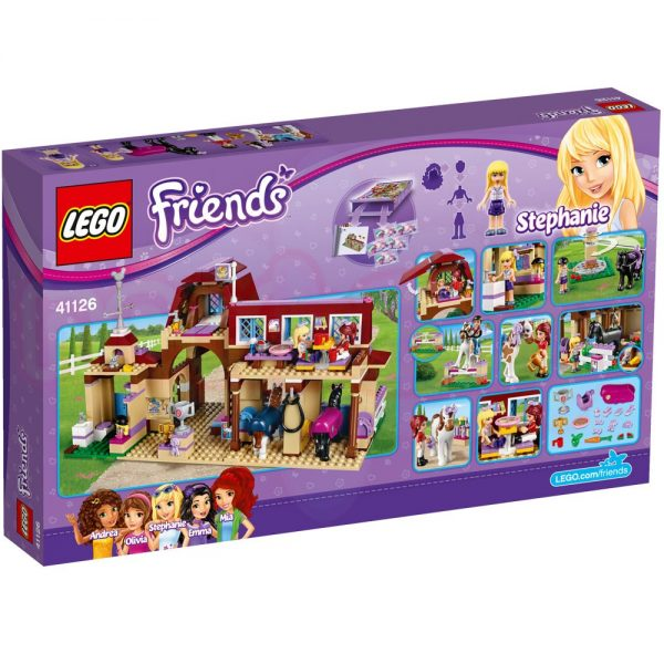 Конструктур Lego Friends Клуб по езда Хартлейк