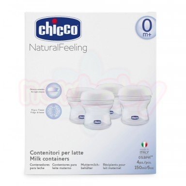 Контейнери за кърма Chicco Natural Feeling