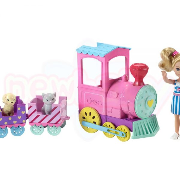 Кукла Barbie Игрален комплект Челси с влакче