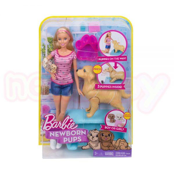 Кукла Barbie Комплект за игра с кученца