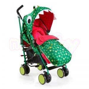Лятна бебешка количка Cosatto SUPA Dino Mighty