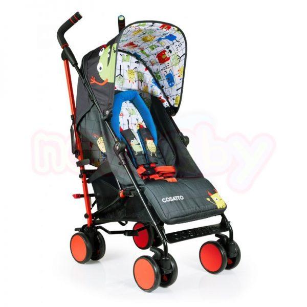 Лятна бебешка количка Cosatto SUPA Monster Mob