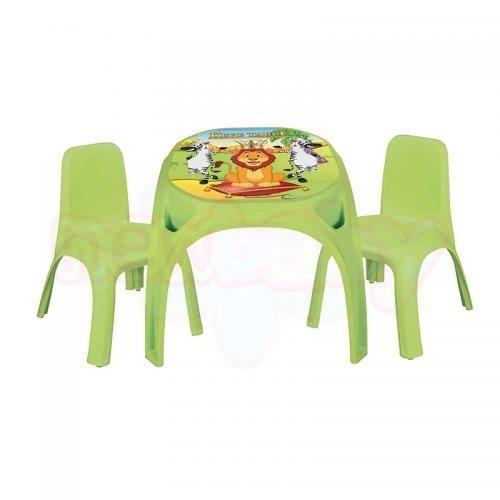 Маса с 2 стола Pilsan King