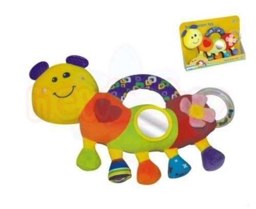 Мека играчка Moni усмихнатата Гъсеничка