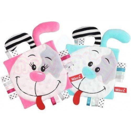 Мека играчка Oдеялце за гушкане Mom's care Пинки и Мента
