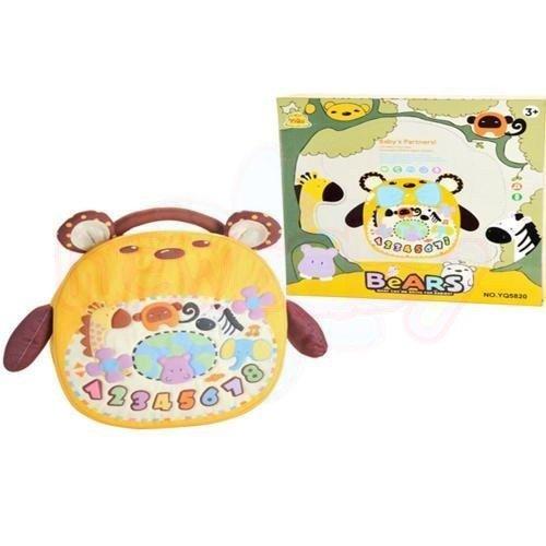Мека музикална играчка Moni Bears