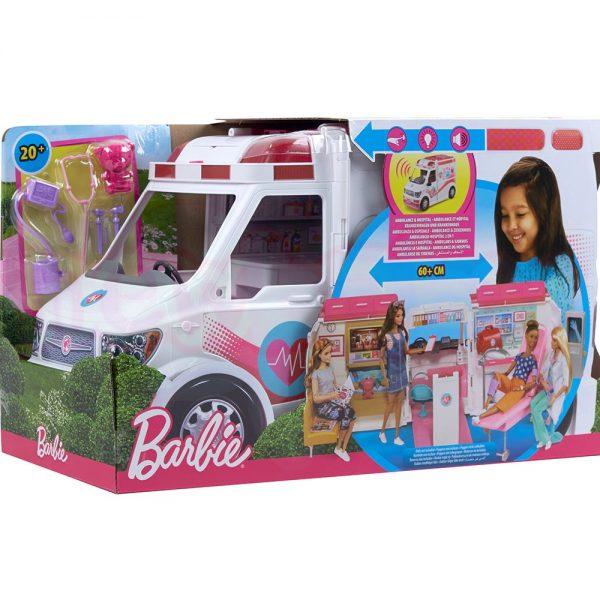 Мобилна клиника Barbie Игрален комплект с линейка
