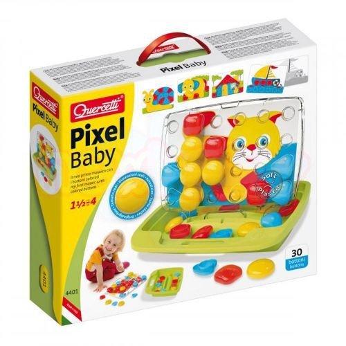 Мозайка едри части Quercetti Pixel Baby