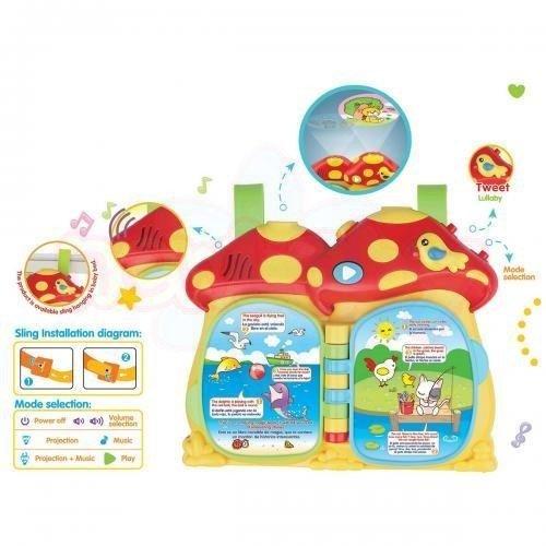 Музикална играчка и проектор Learning Fun