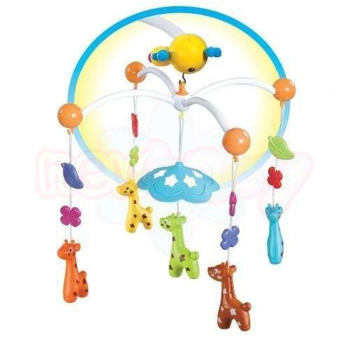 Музикална въртележка Moni Веселото Жирафче