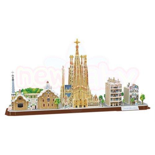 Пъзел 3D CubicFun Barcelona 186 части